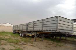 Trailer 1.2 Meter mass side 3 stage tip Trailers