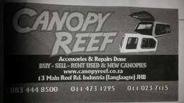 Canopy Reef: We rent canopies
