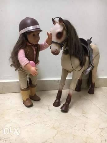 Our generation doll with a horse