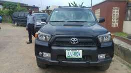 2011 slightly used Toyota 4Runna for sale