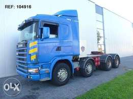 Scania R144.530 8x4 Manual Full Steel - To be Imported