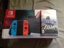 Nintendo switch plus legend of Zelda