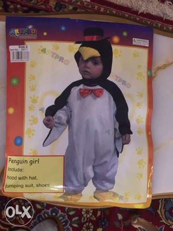 halloween costume penguin girl