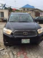 Registered Toyota Highlander 2010 model