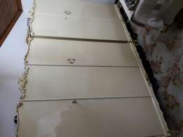 Two Sets Of Antique Cupboards