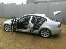 Silver BMW 3series for R76000