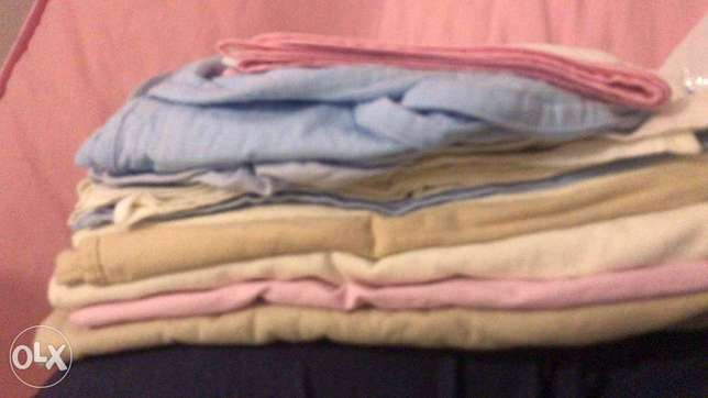 A collection bed sheets