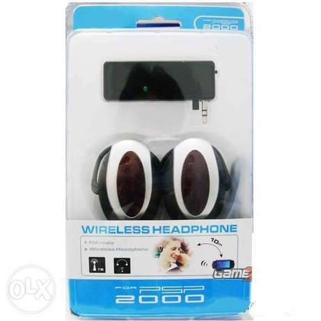 psp 2000/3000 wireless earphones boxed