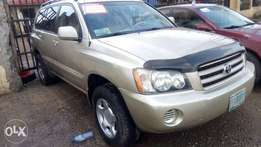 First body, Chilling Ac, Toyota highlander