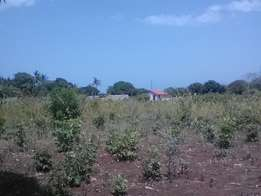 Half Acre plot in ukunda available for sale