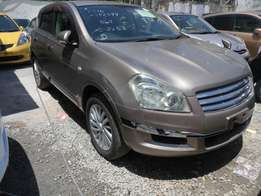 Nissan Dualis Rider Autech KCM number 2010 model loaded with alloy