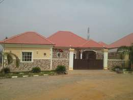 TO LET:A Tastefully And Exquisitely Finished 3bedroom Bungalow With BQ