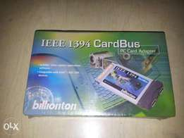 PC card adapter IEEE 1394 Card bus