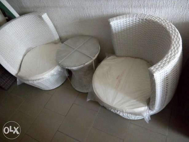 Basket Console set 2sitters with table Lagos Mainland - image 1