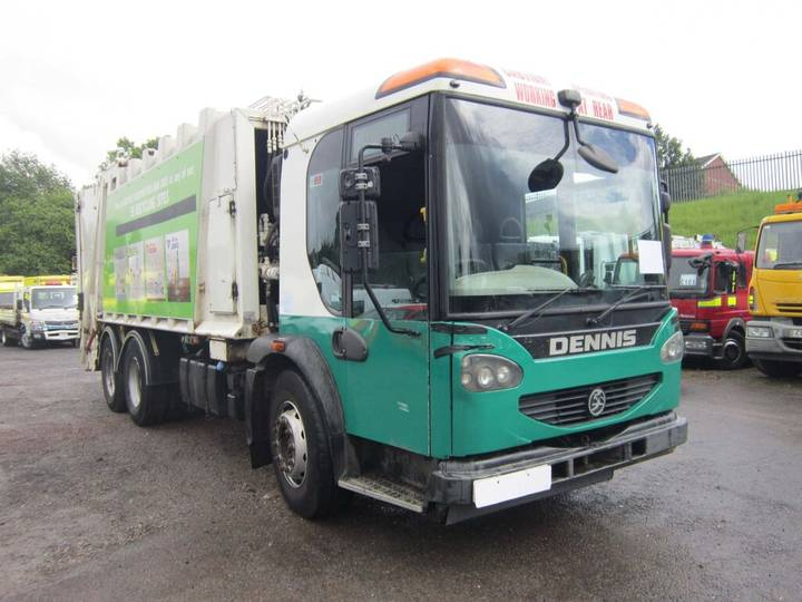 Dennis ELITE 26TON 6X4 60/40 SPLIT REFUSE TRUCK (GUIDE PRICE) - 2008