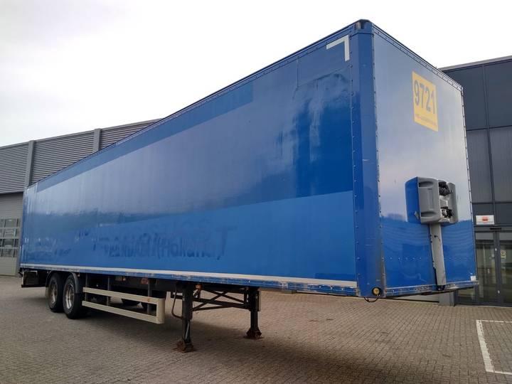 Netam-Fruehauf Boxtrailer / 2 Axle / BPW-DRUM / LIFT-AXLE - 2004