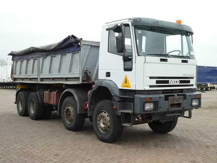 Iveco 380E42 8x4 zf full steel - 2000