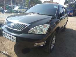 Toyota Harrier KBZ black