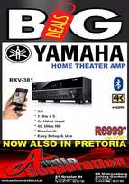 Audio Corp: New Yamaha Home theater amp Rxv 381