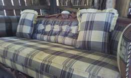 Antique comfortable three seater new sofa set for sale