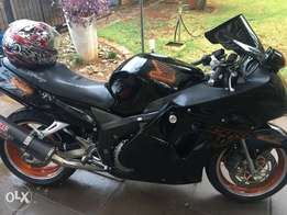 Spotless Honda Blackbird Motorbike For Sale