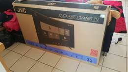 Brand new 55 inch curved Smart TV