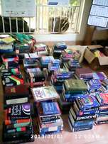 books for sell like dictionaries,bibles.english readers,school atlas