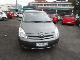 Toyota verso sx Model 2006,5 Doors factory A/C And C/D Player