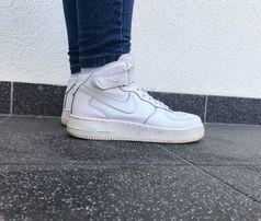 Biały Nike AIR FORCE 1 MID Dostawa 3 5 dni Szczecin Bukowe