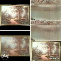 Over 130 year old world wide famous painting for sale