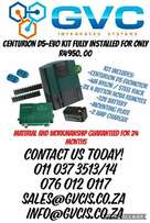 Gate Motor Kits Fully Installed at The Best Prices