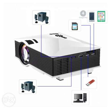 WiFi projector from UNIC HD High quality, USB and HDMI connection