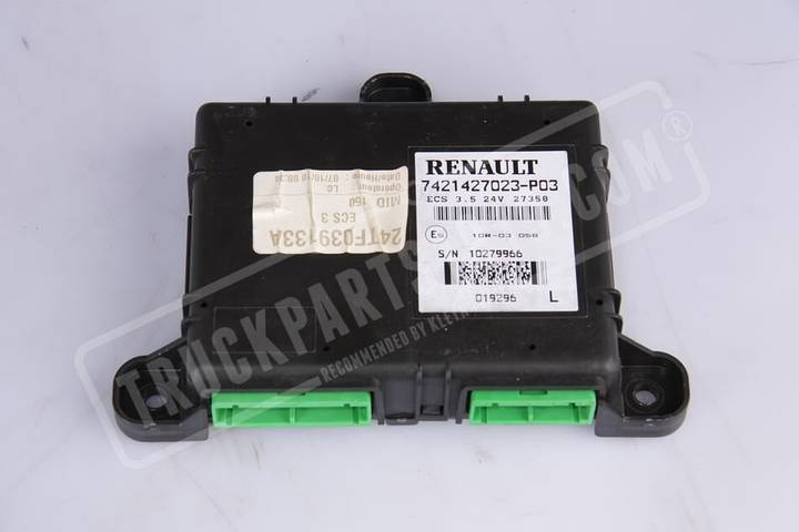 Renault control unit for truck