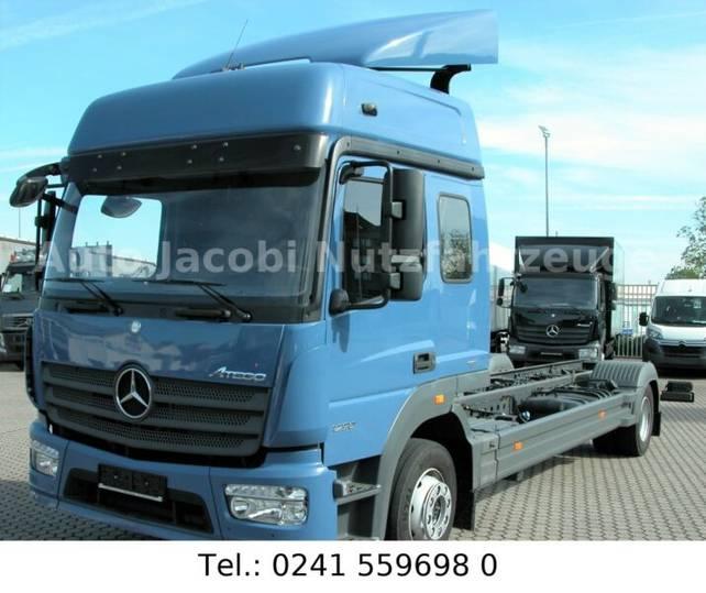 Mercedes-Benz 1230 LL Atego Alu Möbel Koffer - 2014