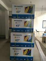 Fresh in Box Skyworth 43inches Satelite TVs on Sale...