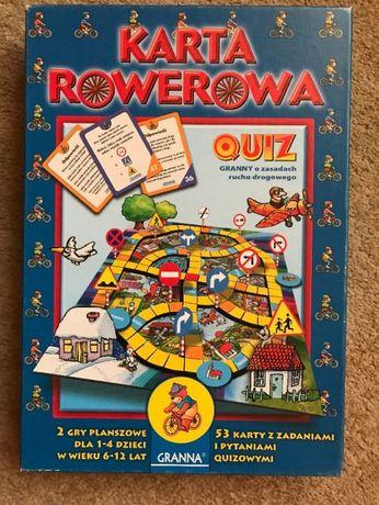Karta Rowerowa Quiz O Zasadach Ruchu Drogowego Pulawy Olx Pl