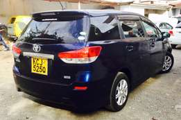 toyota wish 2009 valve matic royal blue at 1,350,000