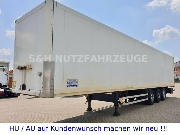 Schmitz Cargobull Isolierte Koffer SAF Lift Achse - 2002