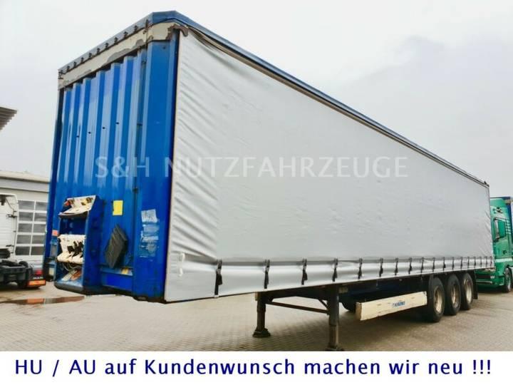 Krone SAF ACHSEN Edscha Schiebeplane Trommel XL Code - 2011