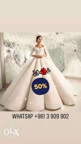 50% on All ROyal Wedding Dresses