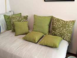 Stunning Green Scatter Cushions