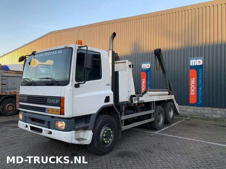 DAF CF 75 290 manual 6x2 steel NL - 2001