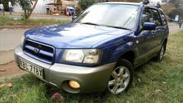 Superb Blue Subaru Forester Kbl for Sale