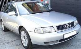 Selling my Audi a4 98 model with a low 194000 kms mileage