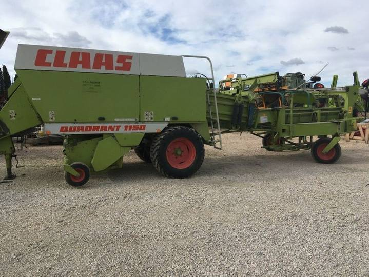 Claas quad 1150 - 1997