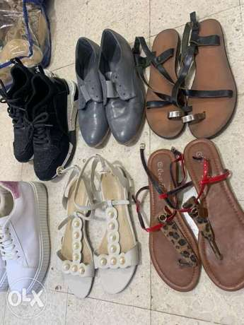 sandals size 40, sneakers are new size 39-40