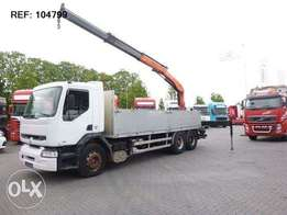 Renault Premium 340 6x2 Manual Palfinger 15500 - To be Imported