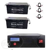 2.4KVA Inverter System with 100Ah Batteries