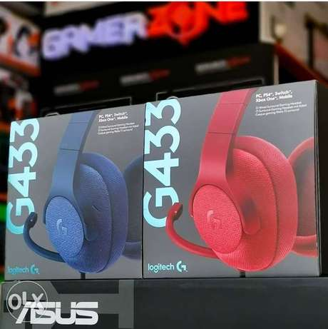 G433 Logitech Gaming Headset Available Now