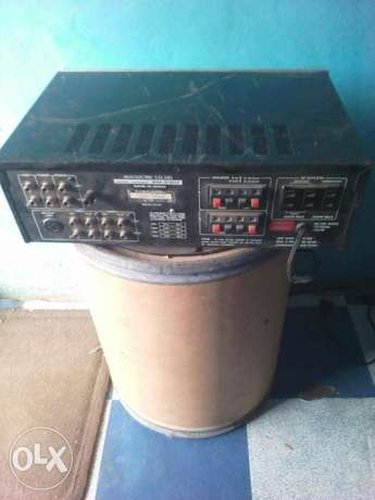 Akai amplifier in good condition no issue at all Apamu - image 2